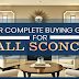 Finding the Right Wall Sconces: Your Complete Buying Guide #infographic