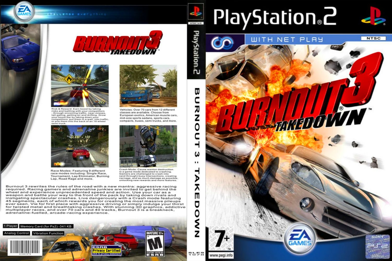 Grand Theft Auto San Andreas Car Wallpaper Burnout 3 Takedown Playstation 2 Ultra Capas