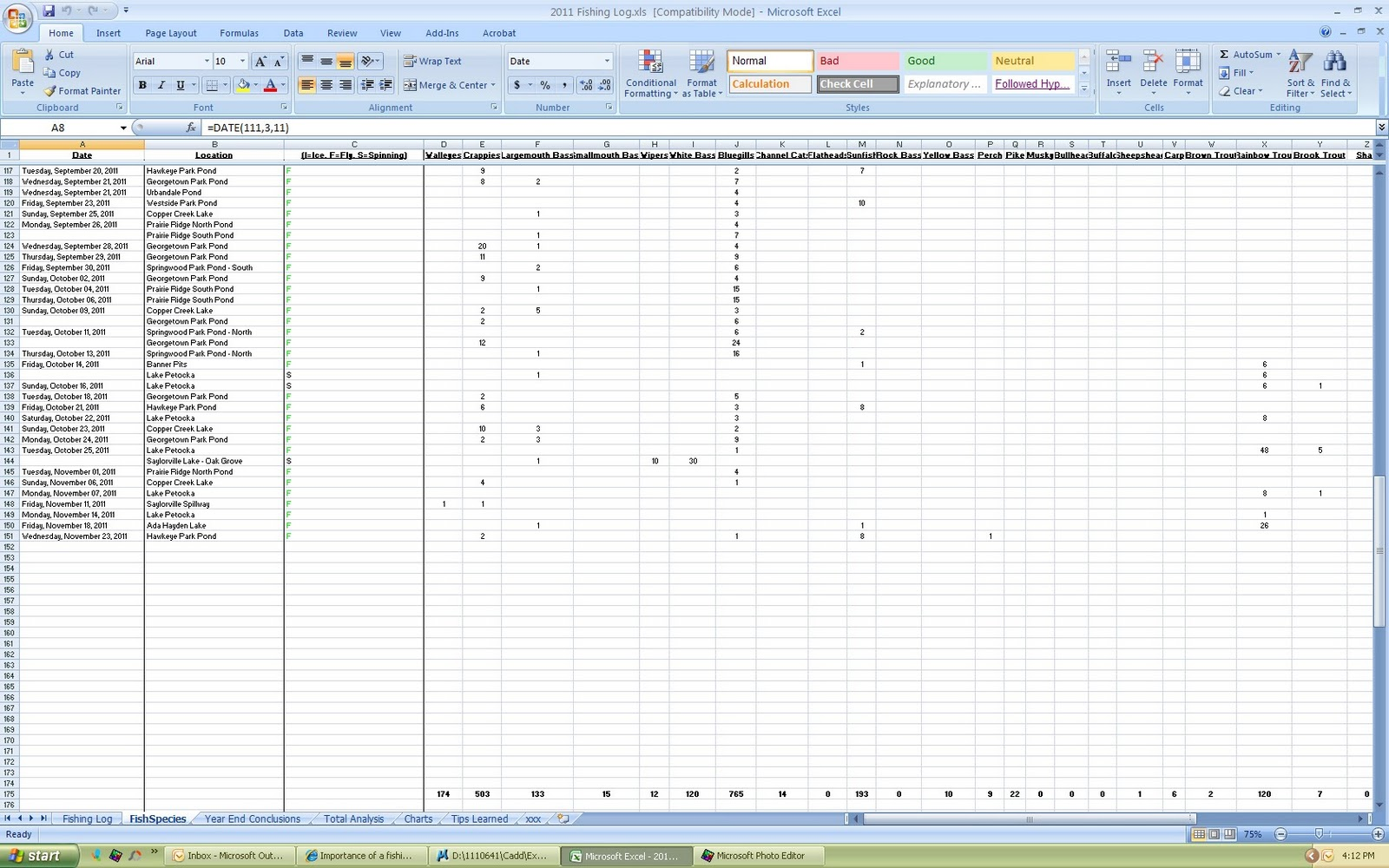 Running Log Excel Oyle Kalakaari Co