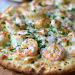 SHRIMP SCAMPI PIZZA #dinner #seafood