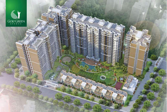 Golf Green Avenue in Greater Noida