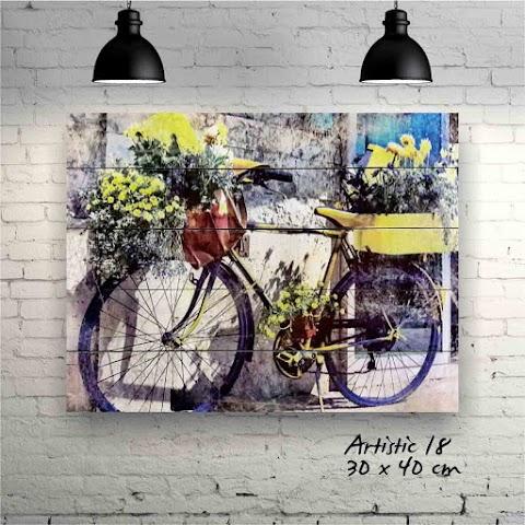 Bicycle & flower