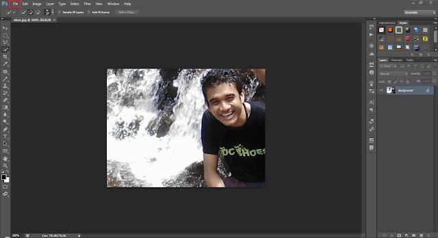 Cara membuat efek blur