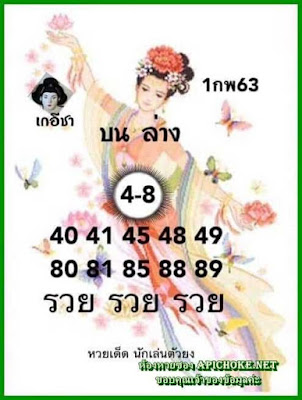 Thailand Lottery 3up Sure Number Formula Papers Tips 17 February 2020