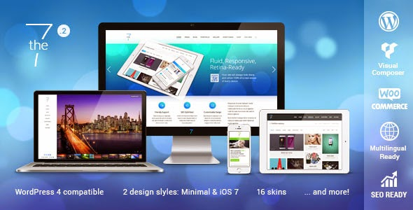 Downlod Free The7.2 v1.2.2 Responsive Multi-Purpose WordPress Theme