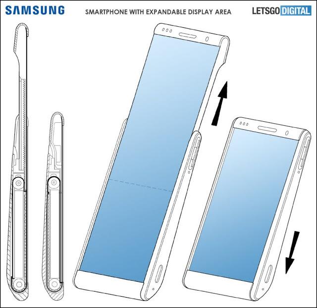 تعمل شركة سامسونغ على هاتف ذكي متطور لم يسبق له مثيل وفقًا لبراءة اختراع جديدة
