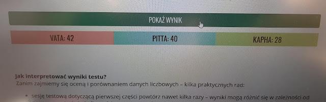 test na dosze z mantra.pl