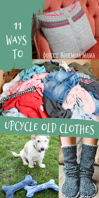 11 Ways to Upcycle Old Clothes.  Earth Day, World environment day, recycle and redesign clothing, how to upcycle clothes without sewing, thrift store clothes upcycled, diy t shirt ideas no sew, diy clothes step by step, diy old clothes ideas, no sew t shirt alterations, diy clothing hacks,  diy clothes tutorials