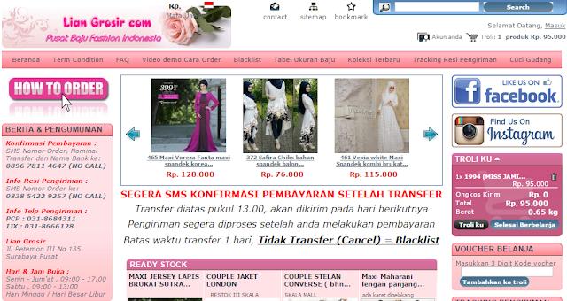 Supplier Baju Muslim Tangan Pertama Terpercaya