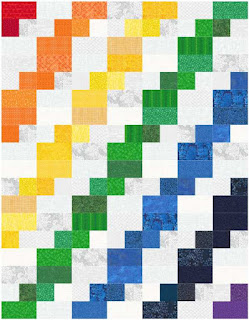 rainbow Celilo quilt