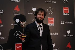 Miguel Angel Trudu en los Premios Feroz 2020