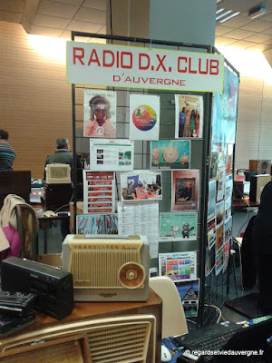 Expo/bourse Radiomania Clermont-Ferrand 2017 radio DX club