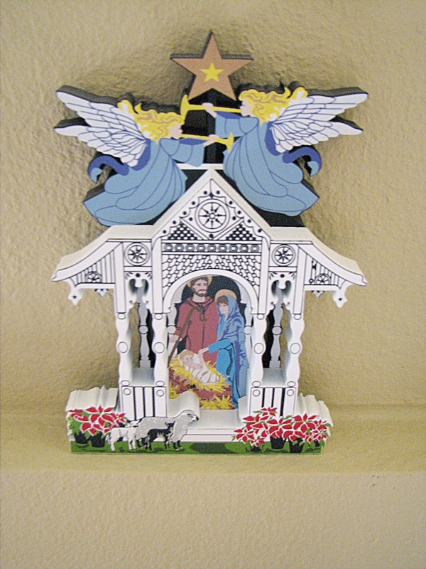 Yellow Rose Arbor My Nativity Collection