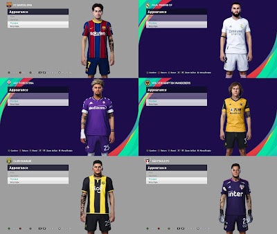 PES 2021 TattooPack by SR