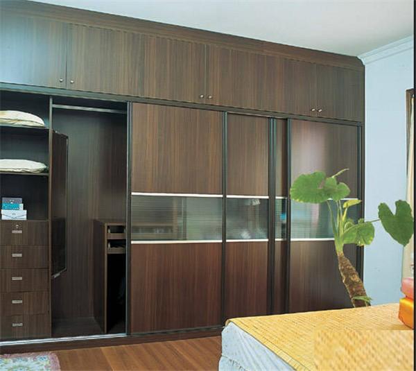 Small kitchen cabinet modern wardrobe design and kitchen for Small kitchen wardrobe