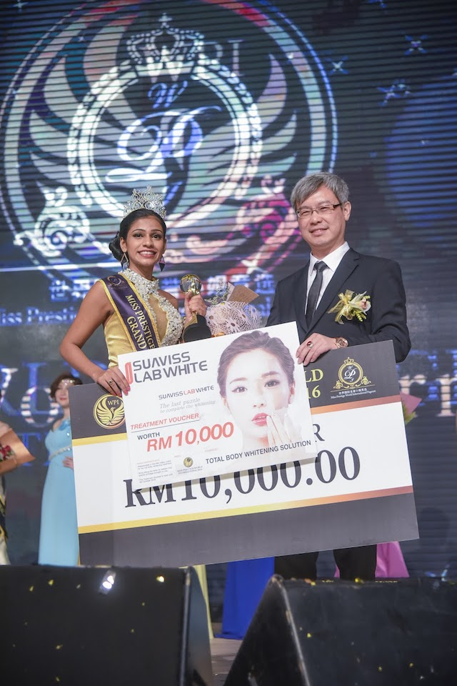 Congratulations, the newly crowned Miss Prestige World International Pageant 2016, Ms Harcanaa Liljay