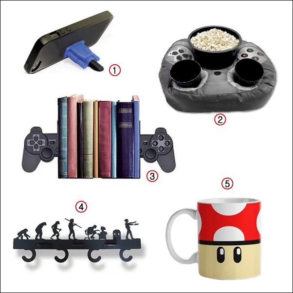 9 presentes criativos e diferentes no estilo Geek e Nerd