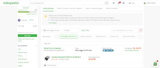 Status pembayaran di Tokopedia menunggu konfirmasi
