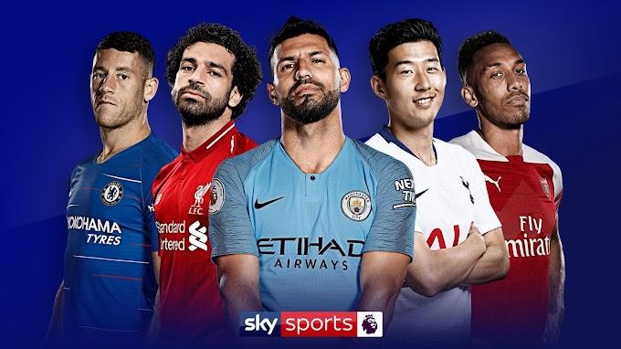 Atualização Campeonato Ingles - Premier League 2019/2020
