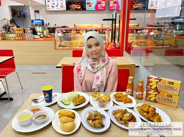 Makan di Kedai Ayamas Bersama Teman