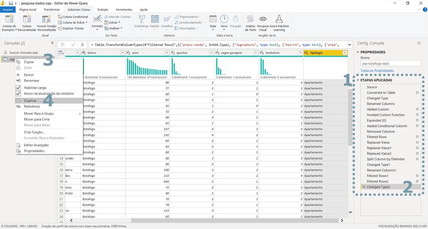 Guia passo a passo tratamento de dados com Power bi - figura 28
