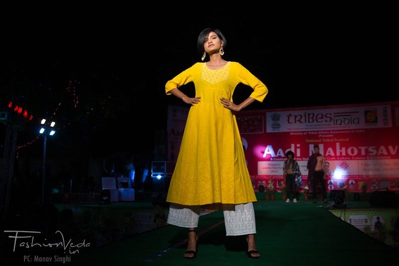The Tribal Cultural Fashion Show Ruma Devi Jaipur