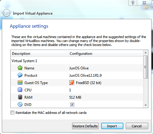 GNS3 Labs   CCNP   CCNA Labs: Run / configure Juniper router