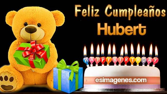 Feliz cumpleaños Hubert