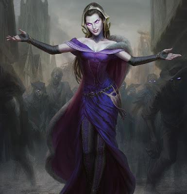 Liliana del Velo (Magic the Gathering -  Innistrad)