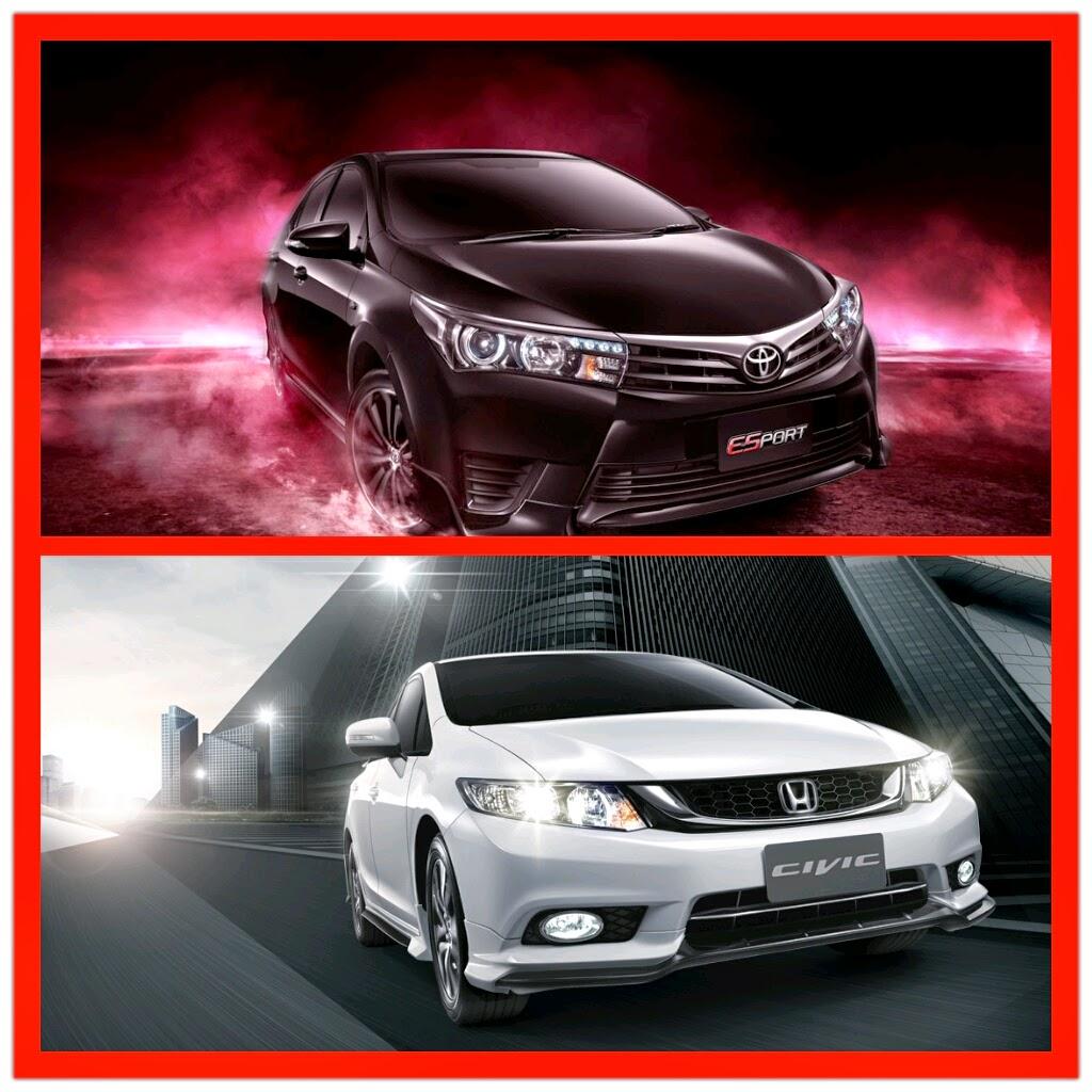 All New Corolla Altis Vs Civic Toyota Camry 2012 Car News Update เปรยบเทยบมวยคเดอด ตอนท 12