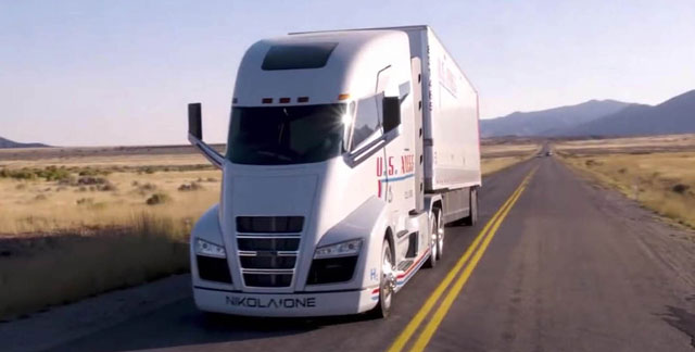 Nikola Motor Company shows off two real trucks and… a ...