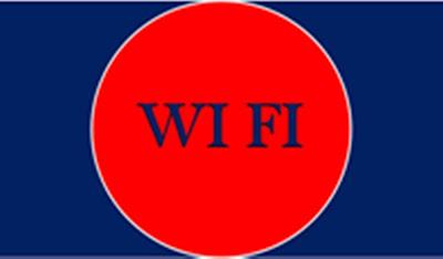 O wifi é o sinal aberto em lugares públicos que facilita a comunicação de todos de maneira grátis.