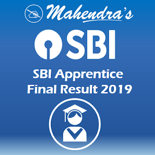 SBI Apprentice Final Result 2019 Declared