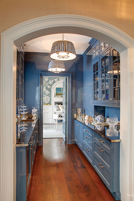 Blue And White In Connecticut By Lee Ann Thornton The