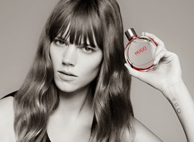 hugo woman fragrance freja beha erichsen