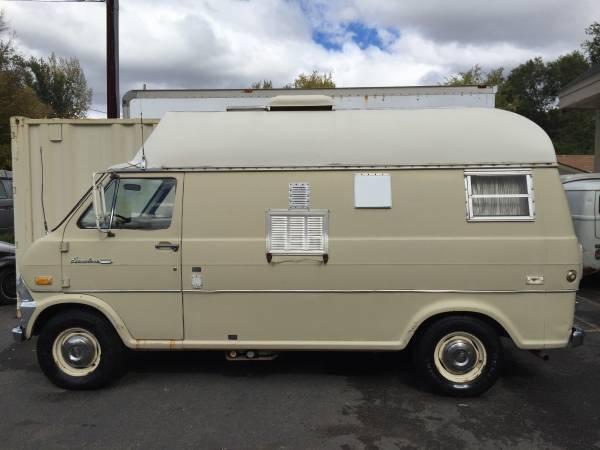 used rvs 1971 ford econoline camper van for sale by owner. Black Bedroom Furniture Sets. Home Design Ideas