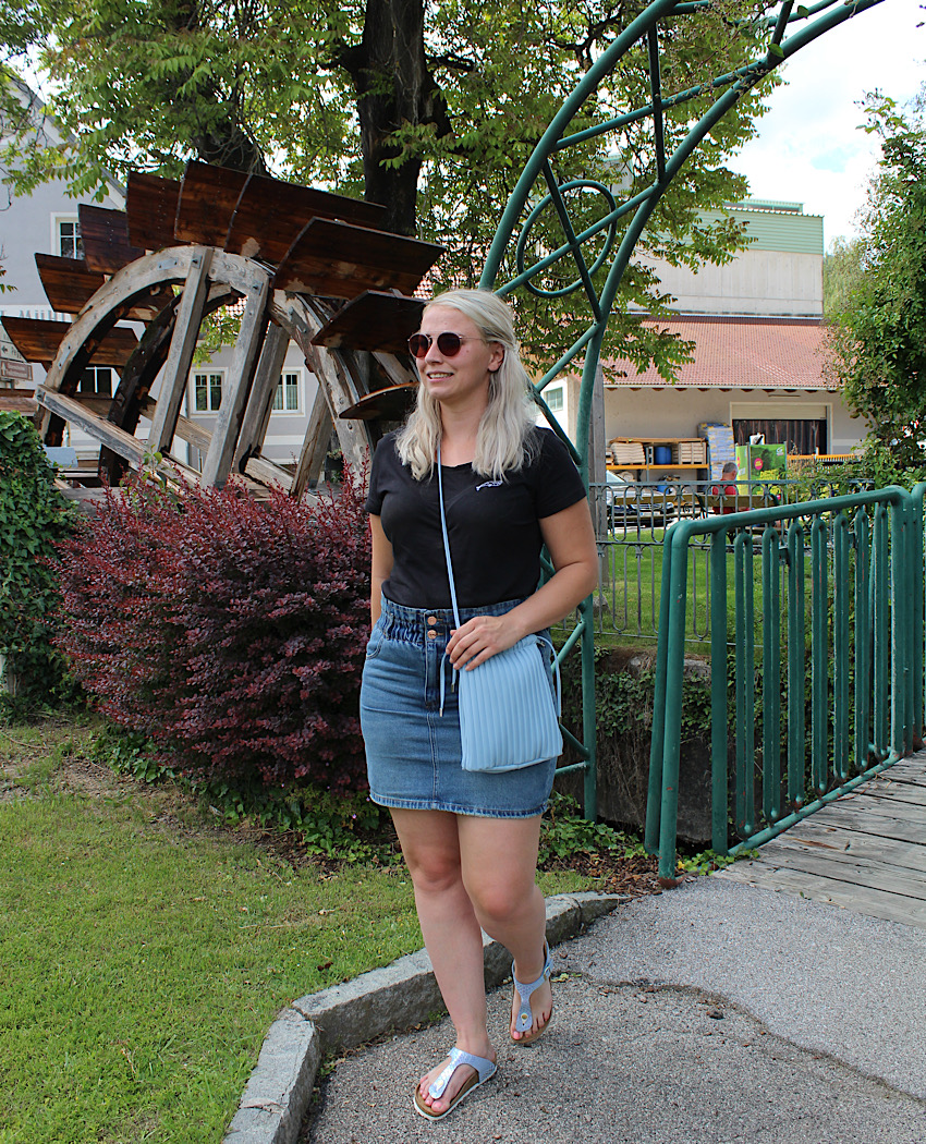 Bequemer Denim Look Sommer