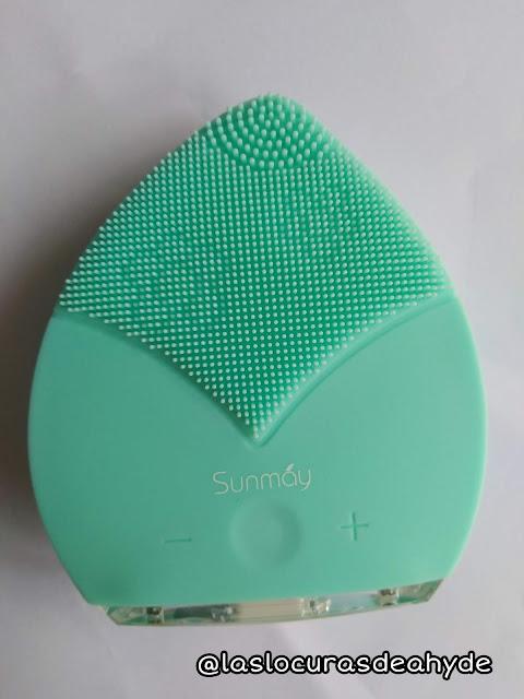 Sunmay Leaf cepìllo limpiador facial de silicona  parte limpiadora