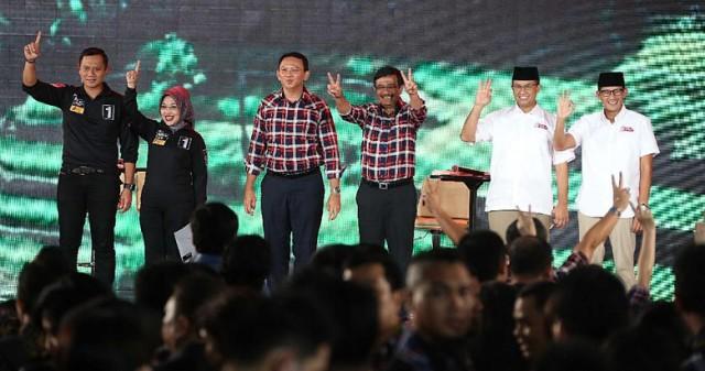 Debat Final Pilgub DKI Panas, Begini Reaksi Netizen