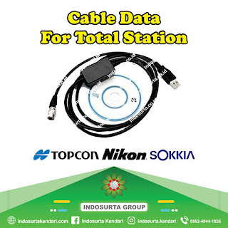 Jual Cable Data For Total Station di Kendari