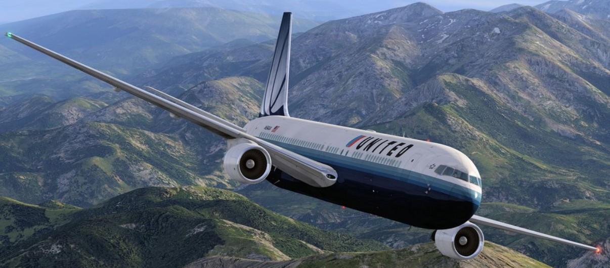 South West Flight Simulation: Flight Factor 767 on finals