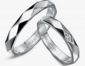 Nhẫn đôi tình nhân BND435A