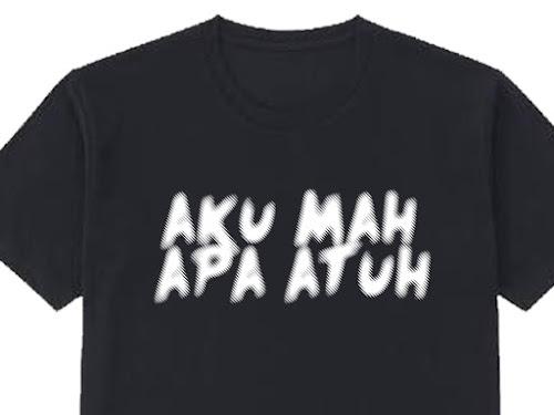 Kaos Bahasa Sunda