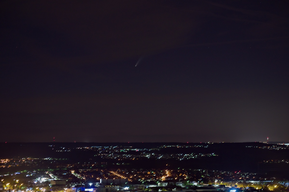 """Noch einmal Komet """"NEOWISE"""" – C/2020 F3"""