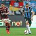 Com 5 desfalques confirmados, Jorge Jesus inova na escalação do Flamengo contra o Grêmio