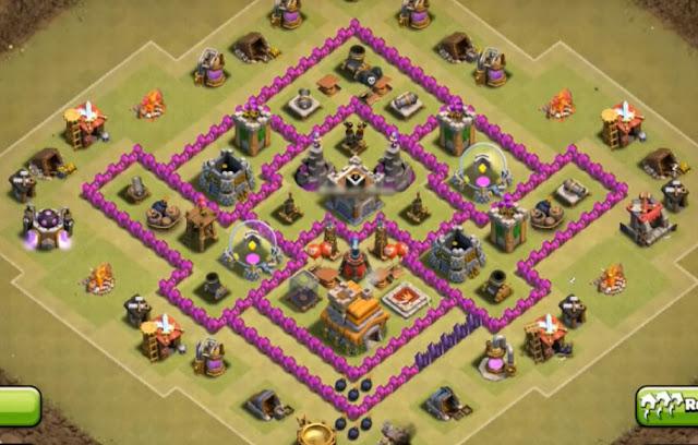 war base coc th 7