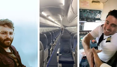 Penumpang satu-satunya di pesawat
