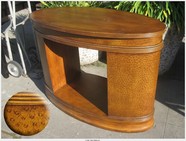 Must see Oval Console Table