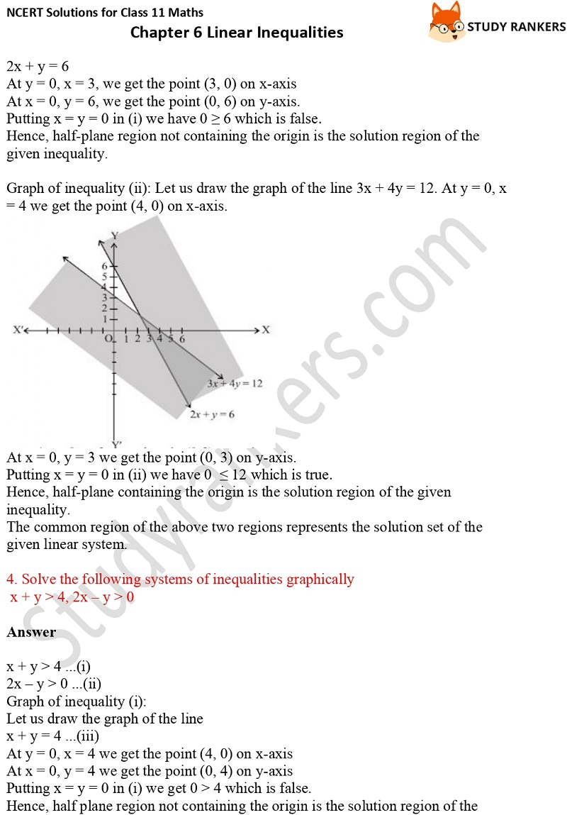 NCERT Solutions for Class 11 Maths Chapter 6 Linear Inequalities 19