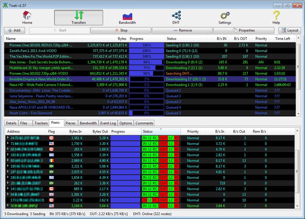 9 Situs Download File Torrent Terbaik Tixati